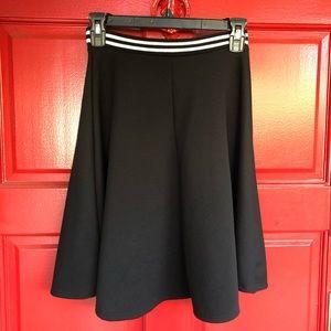 NWOT Charlotte Russe Pleated Skater Skirt